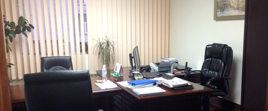 Rent office in the business center with an area of 75 sq m
