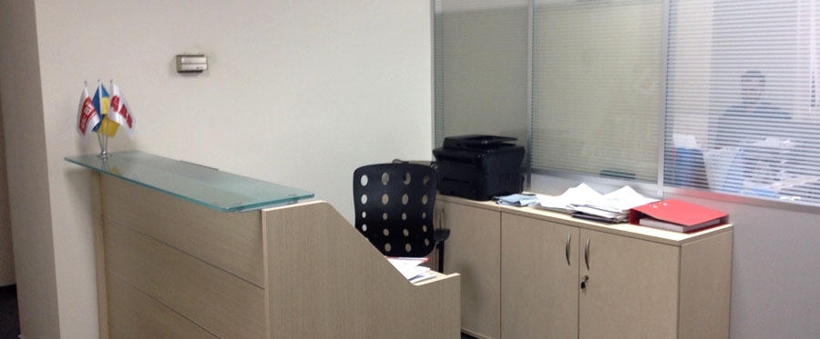 Rent office in the business center with an area of 98 sq m