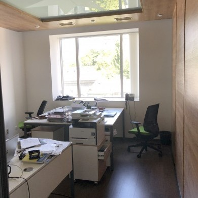 Rent office in the business center with an area of 132 sq m