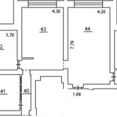 Аренда офиса в бизнес центре 141 кв м