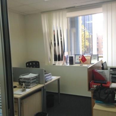 Оренда приміщень в бізнес центрі на 4 поверсі площею 98 кв м