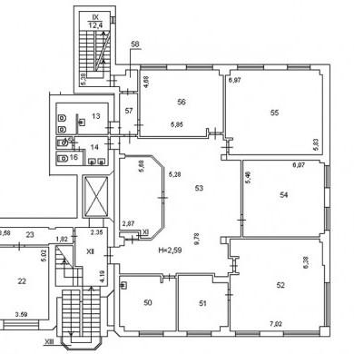 Office rent kyiv 365 sq m